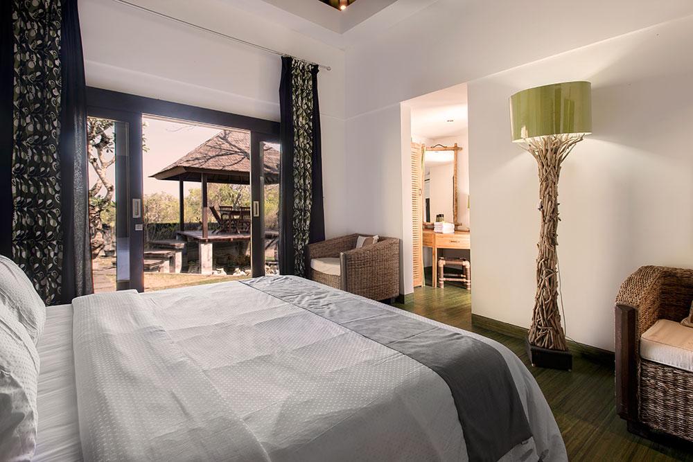 Bamboo Bedroom Villa Bukit Jimbaran - Villa Bukit Jimbaran