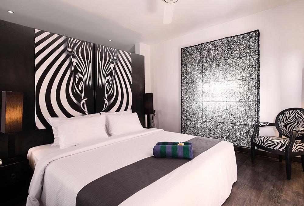Bedroom Zebra Villa Bukit Jimbaran - Villa Bukit Jimbaran