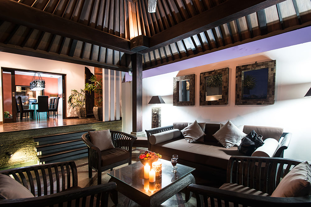 Living Room Villa Bukit Jimbaran - Villa Bukit Jimbaran